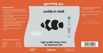 Cockle in Shell  Bulk Slice Pack